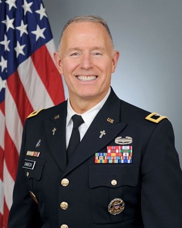 Chaplain Colonel Lawrence - Dabeck